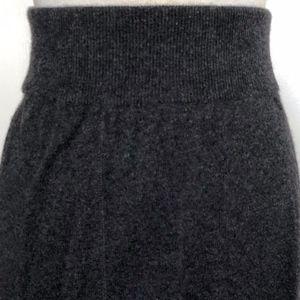 100% cashmere mini skirt